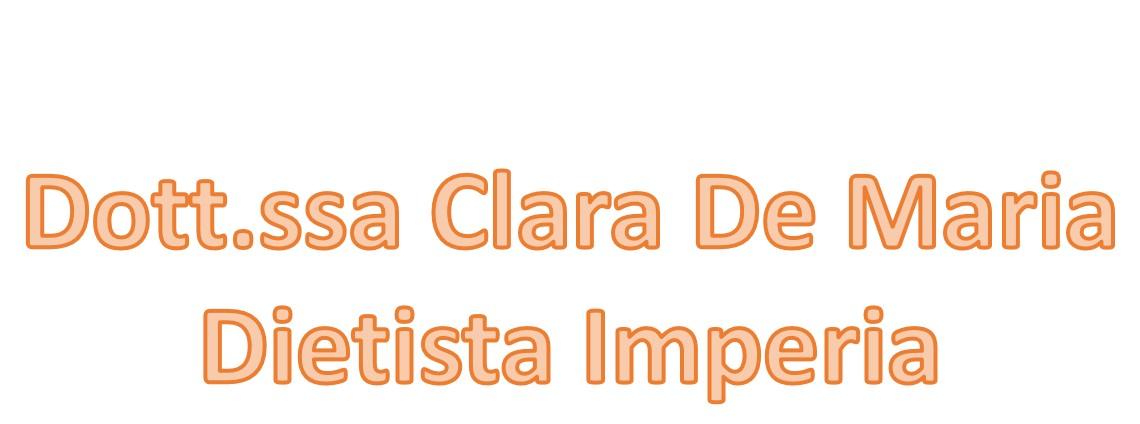 Dott.ssa Clara De Maria