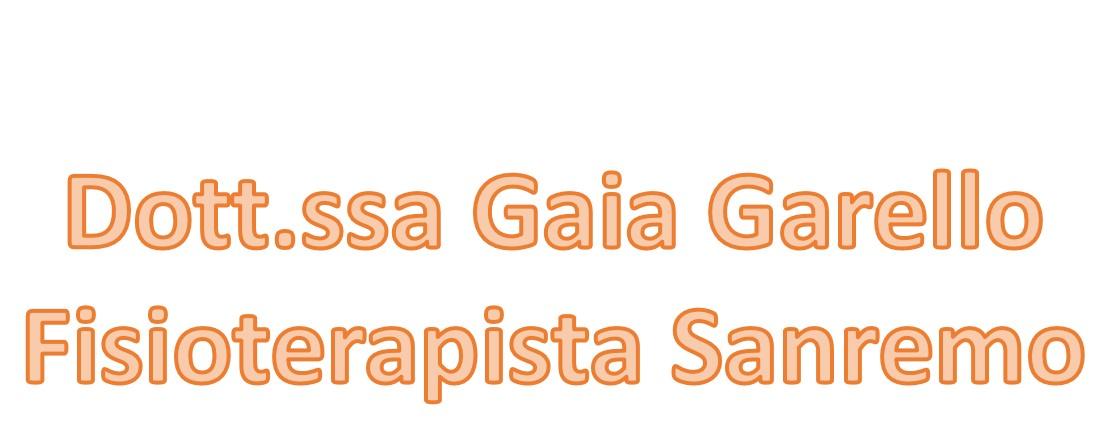 Dott.ssa Gaia Garello